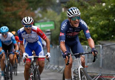 Louis Vervaeke schuift op naar tweede plaats in klassement Giro d'Italia