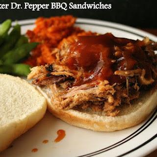 Crock-pot Dr. Pepper BBQ Sandwiches