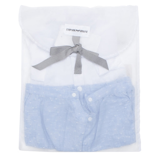 Thumbnail images of Emporio Armani Baby Boy Shortie