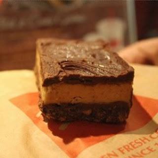 Mrs Fields Peanut Butter Dream Bars.