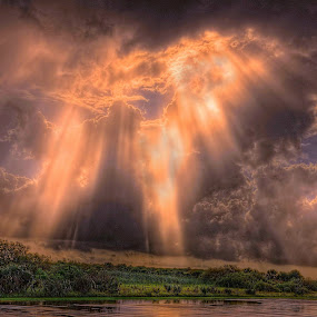 Power by Edward Allen - Landscapes Cloud Formations