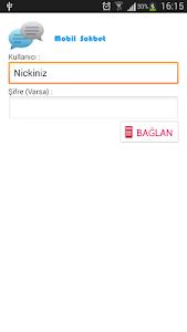 Mobil Chat Sohbet irc programı screenshot 0