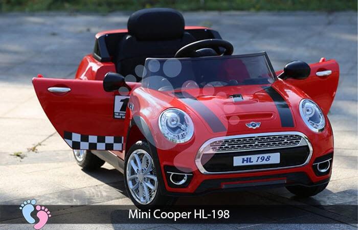 Xe oto điện trẻ em Mini Cooper HL-198 9