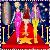 Super Star Girl Dress Up Game