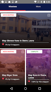 Mapswipe- screenshot thumbnail