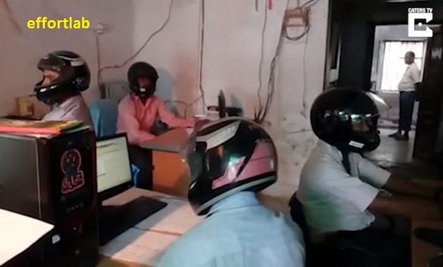 topi-keledar-pejabat-india