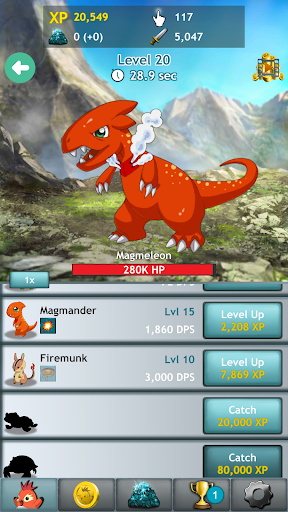 Kupimon - RPG Clicker Game - screenshot