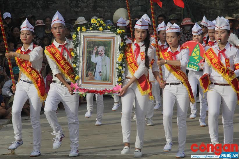 Duyệt đội - hoạt động bổ ích, ý nghĩa của Đội Thiếu niên tiền phong Hồ Chí Minh