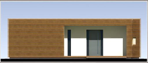 House 02 - Elewacja przednia