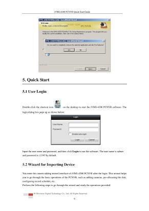 iVMS-4200 PCNVR Quick Start Guide En