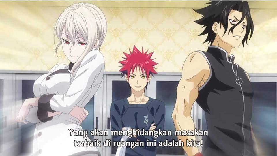 Shokugeki no Souma: San no Sara Episode 14 Subtitle Indonesia