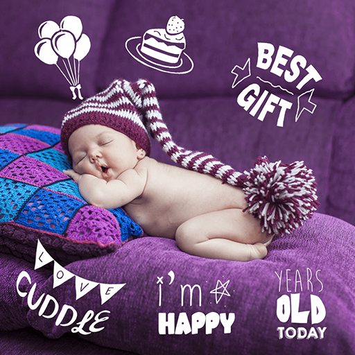 Baby Photo Stickers Free