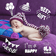 Baby Stickers Free & Photo Editor icon