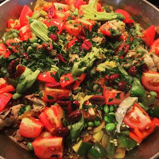Summer Vegetable Paella