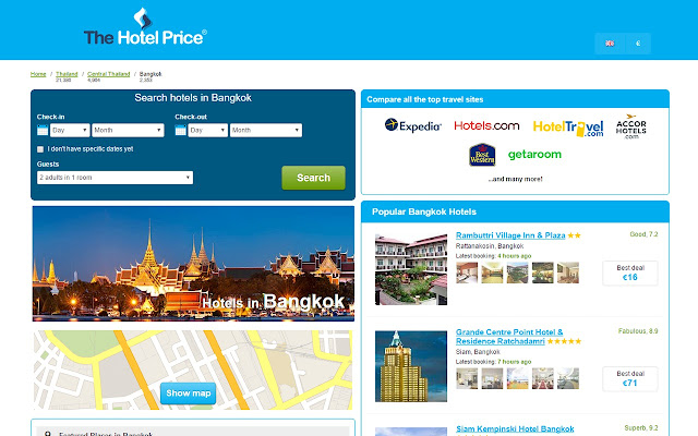 Best Hotel Deals in Bangkok - Hotel Finder