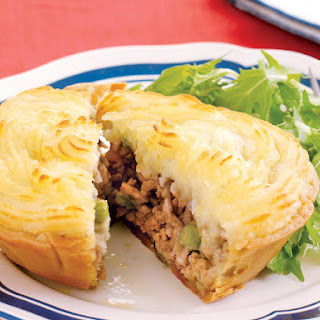 Hearty Pork Pot Pies.