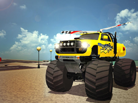 Flying Truck Pilot Driving 3D 1.1 screenshot 2088524