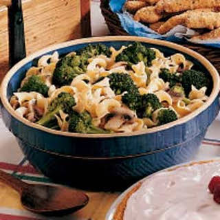 Broccoli Noodle Side Dish.