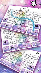 Colorful Cat Keyboard Theme - náhled