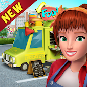Food Truck Restaurant : Kitchen Chef Cooking Game