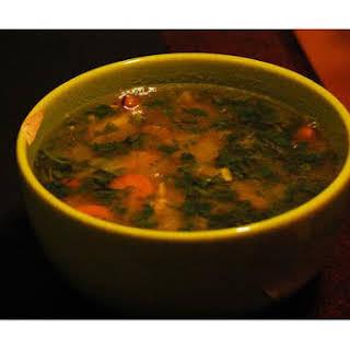 Ginger Miso Carrot Soup.