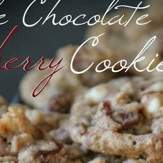 Triple Chocolate Cherry Cookies