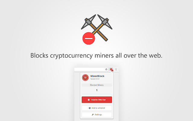 minerBlock Screenshot