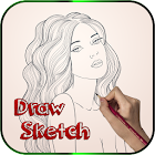 Learn to Draw Face Sketch by Byte Tech Solution icon
