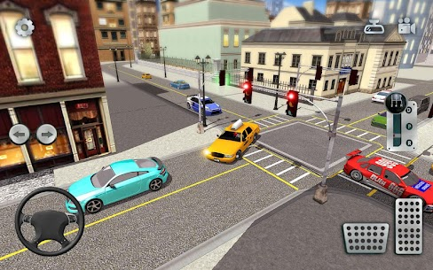 City Taxi Driving simulator: online Cab Games 2020 3