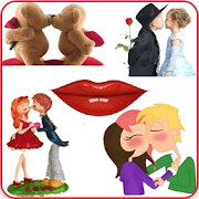 Kiss Me Day Emoji Love Stickers