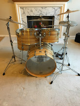 Photo: 1980 Ludwig Combo II Model 1952 in Butcher Block