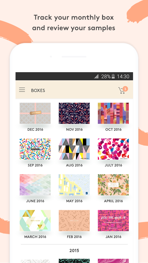 Birchbox- screenshot