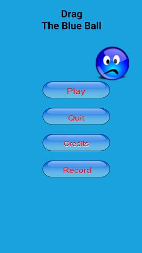 拖动蓝色球
