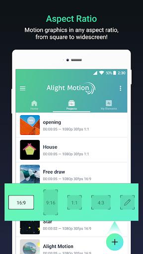 Alight Motion — Video and Animation Editor 3.1.4 screenshots 4