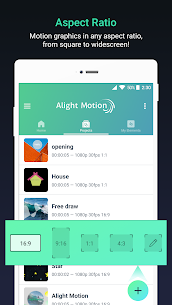 Download Alight Motion APK MOD 3.3.5 (Pro Unlocked) Free on Android 4