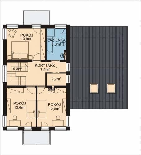 APS 072+G - Rzut piętra