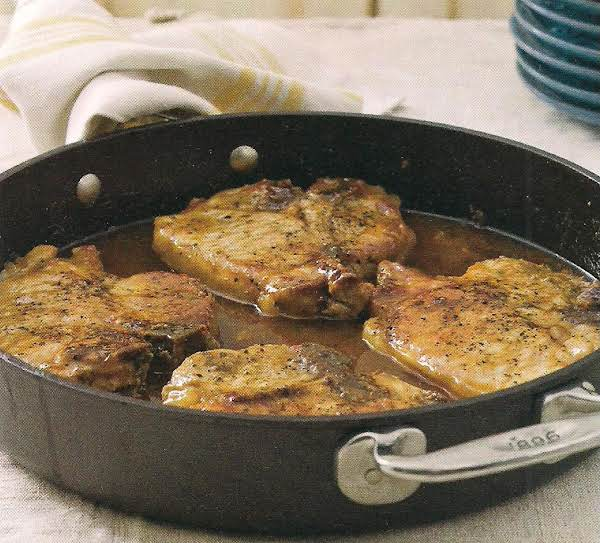 Pork Chops With Pepper Jelly Sauce Recipe