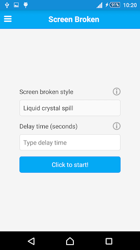 Screen Broken - Screen Prank