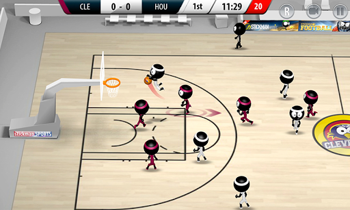 Stickman Basketball 2017 1.1.2 screenshots 6