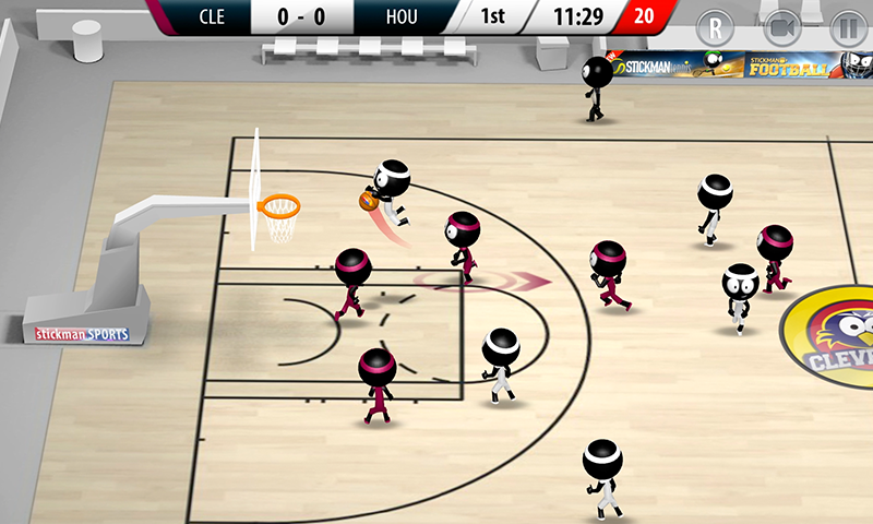 Stickman Basketball 2017 screenshot #6