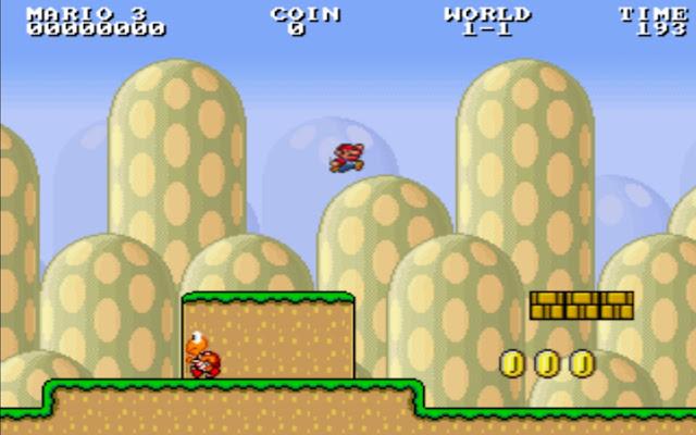 Infinity Mario html5