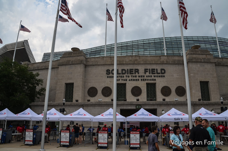 Soldier field stadium