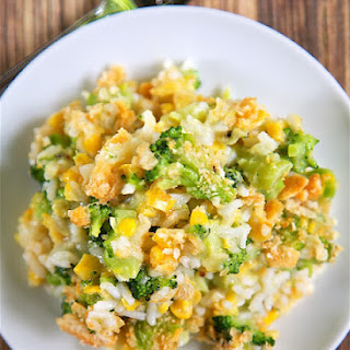 Corn and Broccoli Rice Casserole