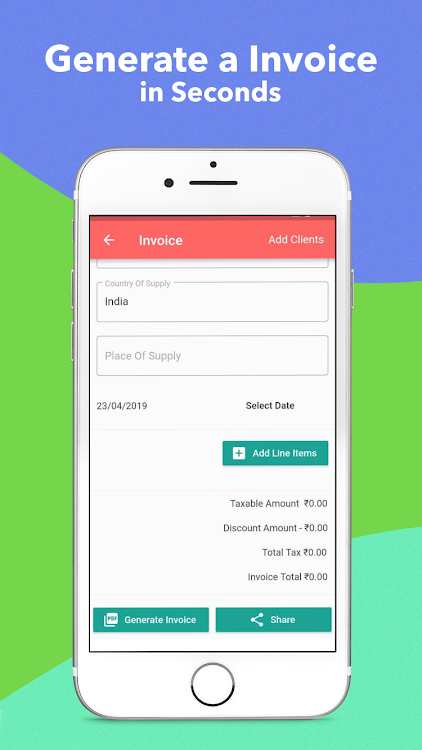 Free Invoice Generator & GST calculator- Signical – (Android