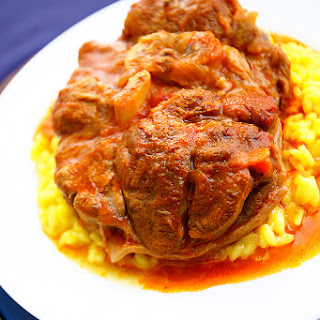 Veal Ossobuco Milanese.