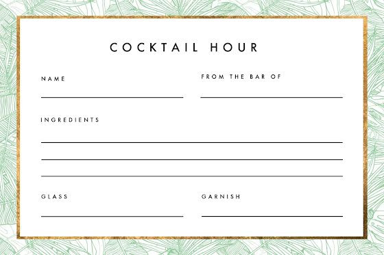 Cocktail Recipe Cards Template from lh3.googleusercontent.com