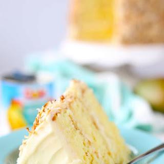 Coconut Mango Cake.