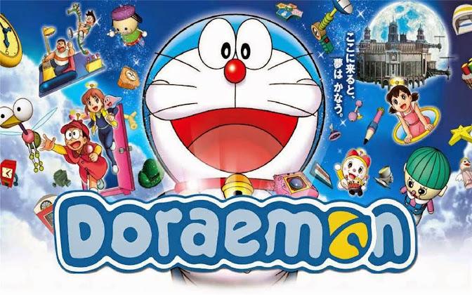 Doraemon Background Design