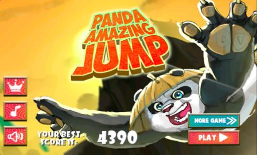 Panda Ninja Amazing Jump