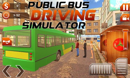 Public Bus Driving Simulator - náhled